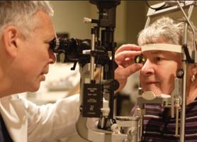 Лечение глаукомы лазером