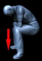 Позиционирование тела и головы в сидячем положении после операции